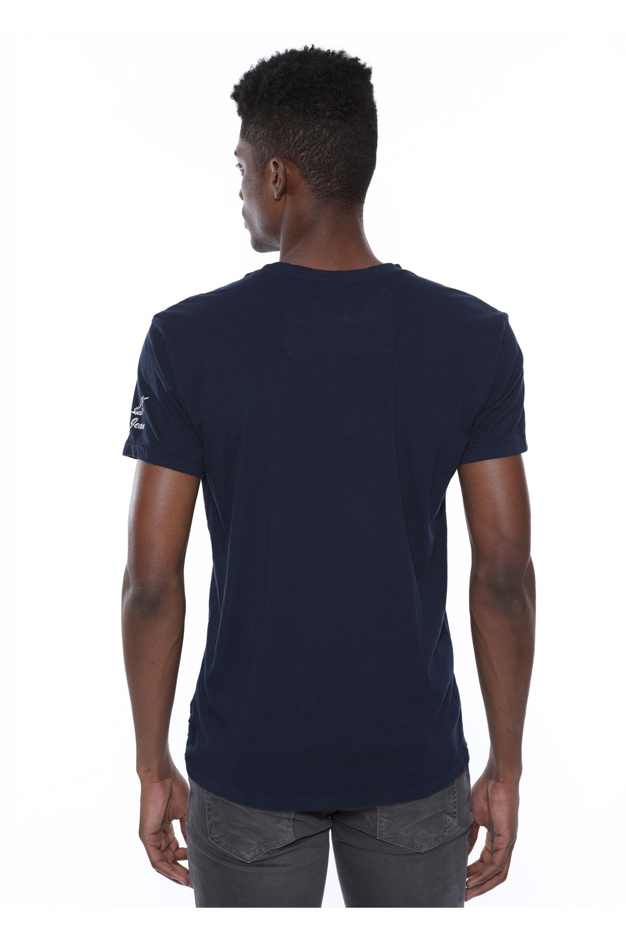TRADITIONAL EAGLE TEE IN NAVY