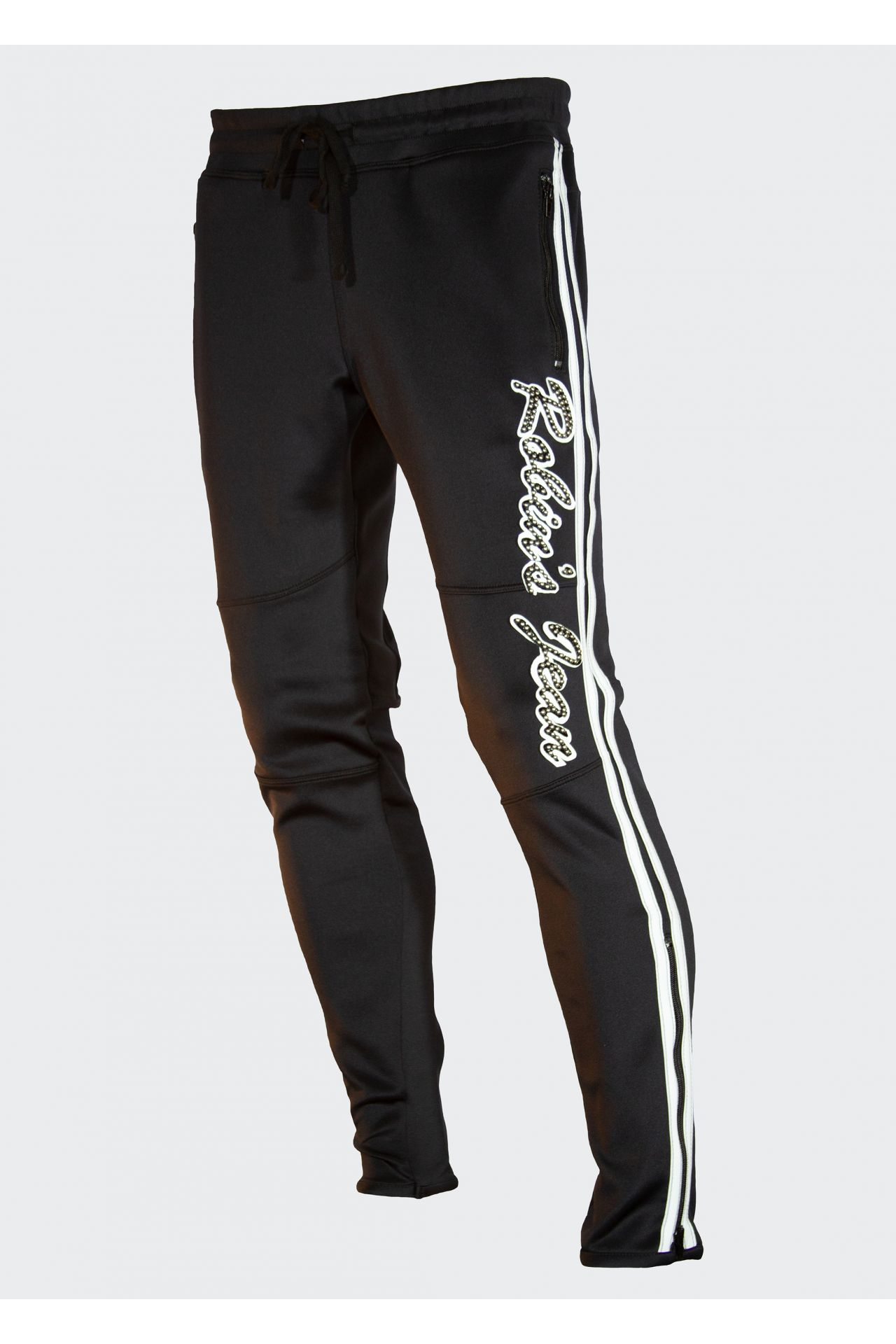 TEAM ROBIN'S JEAN JOGGER IN BLACK