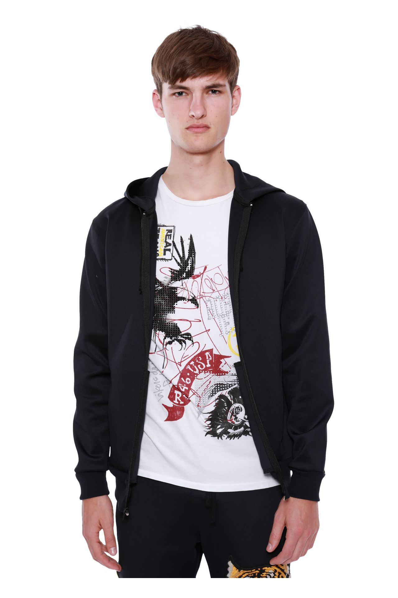 TIGER PATCH HOODIE