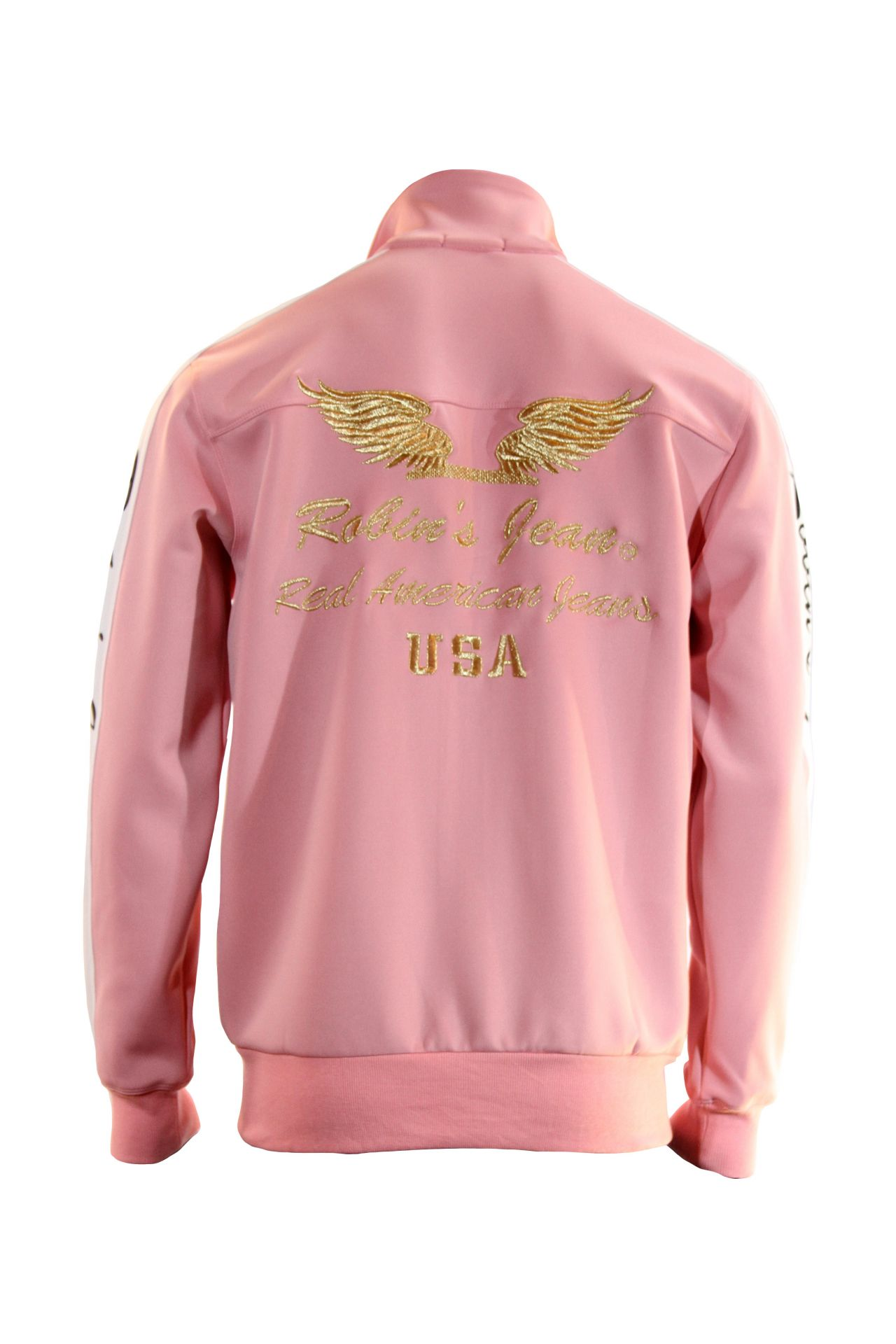 ROBIN TEAM TRACK JACKET IN PINK