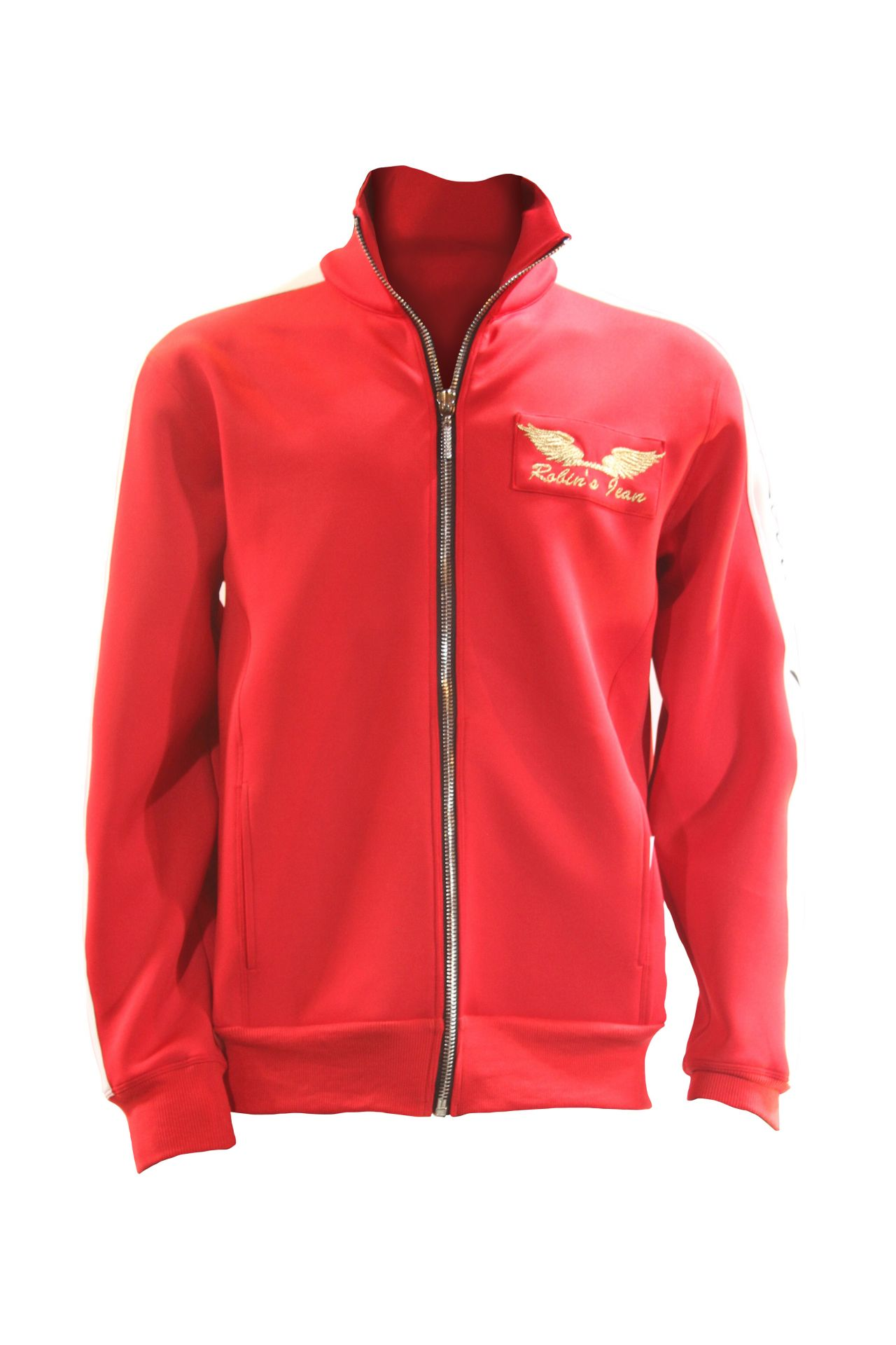 ROBIN TEAM TRACK JACKET IN RED