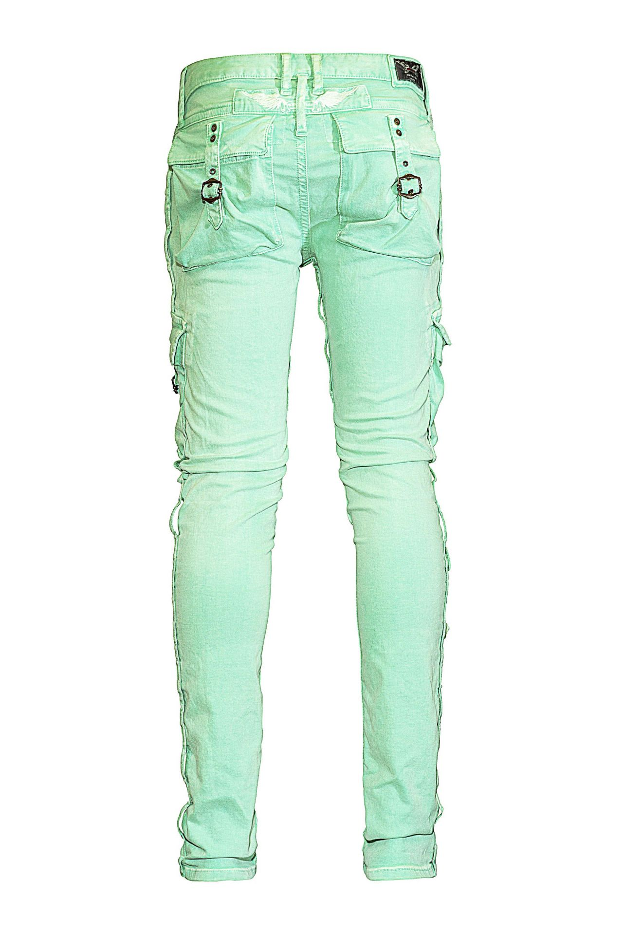 MILITARY CARGO IN LIME GREEN