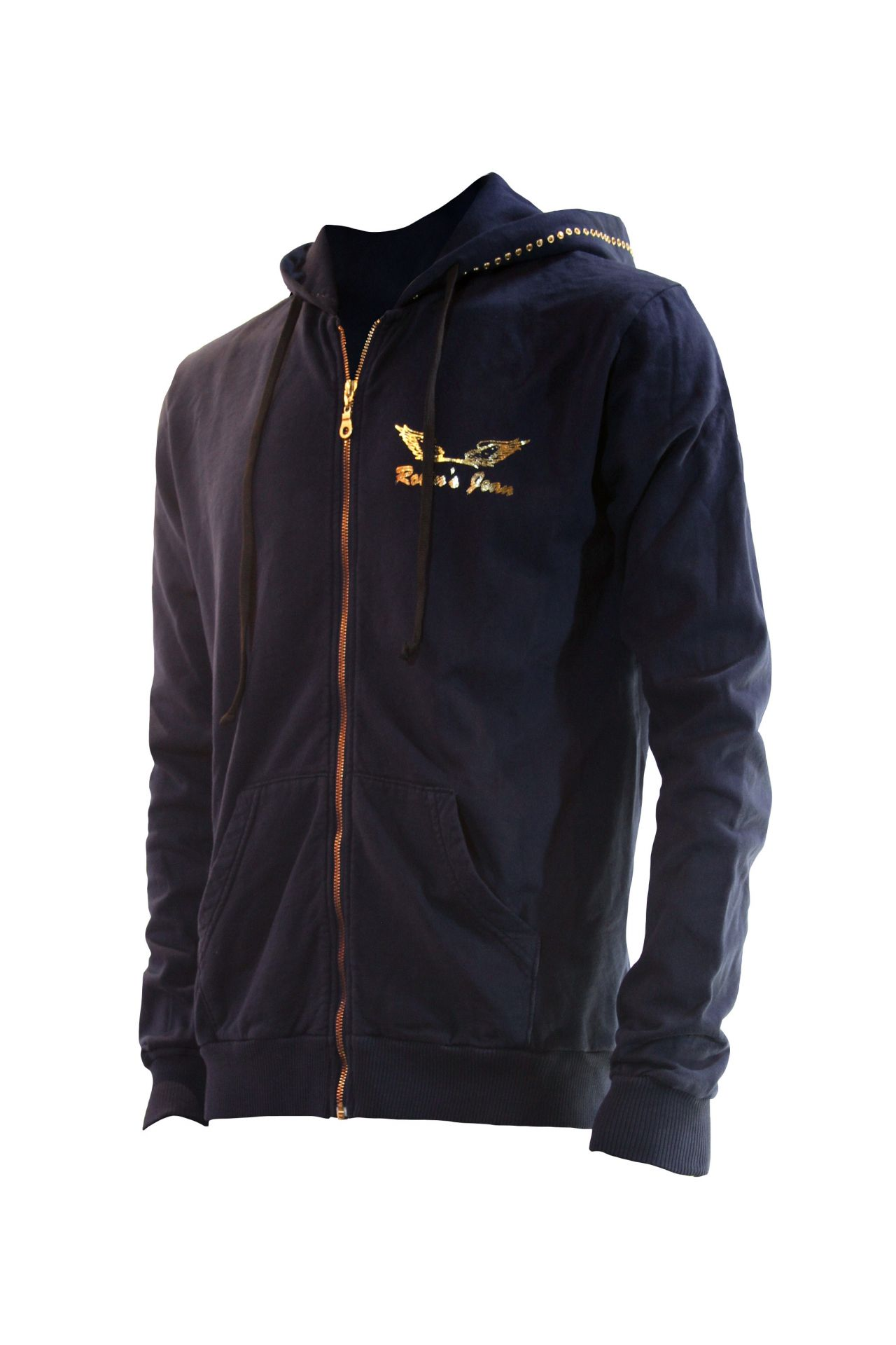 NAVY HOOD WITH WINGS AND SW