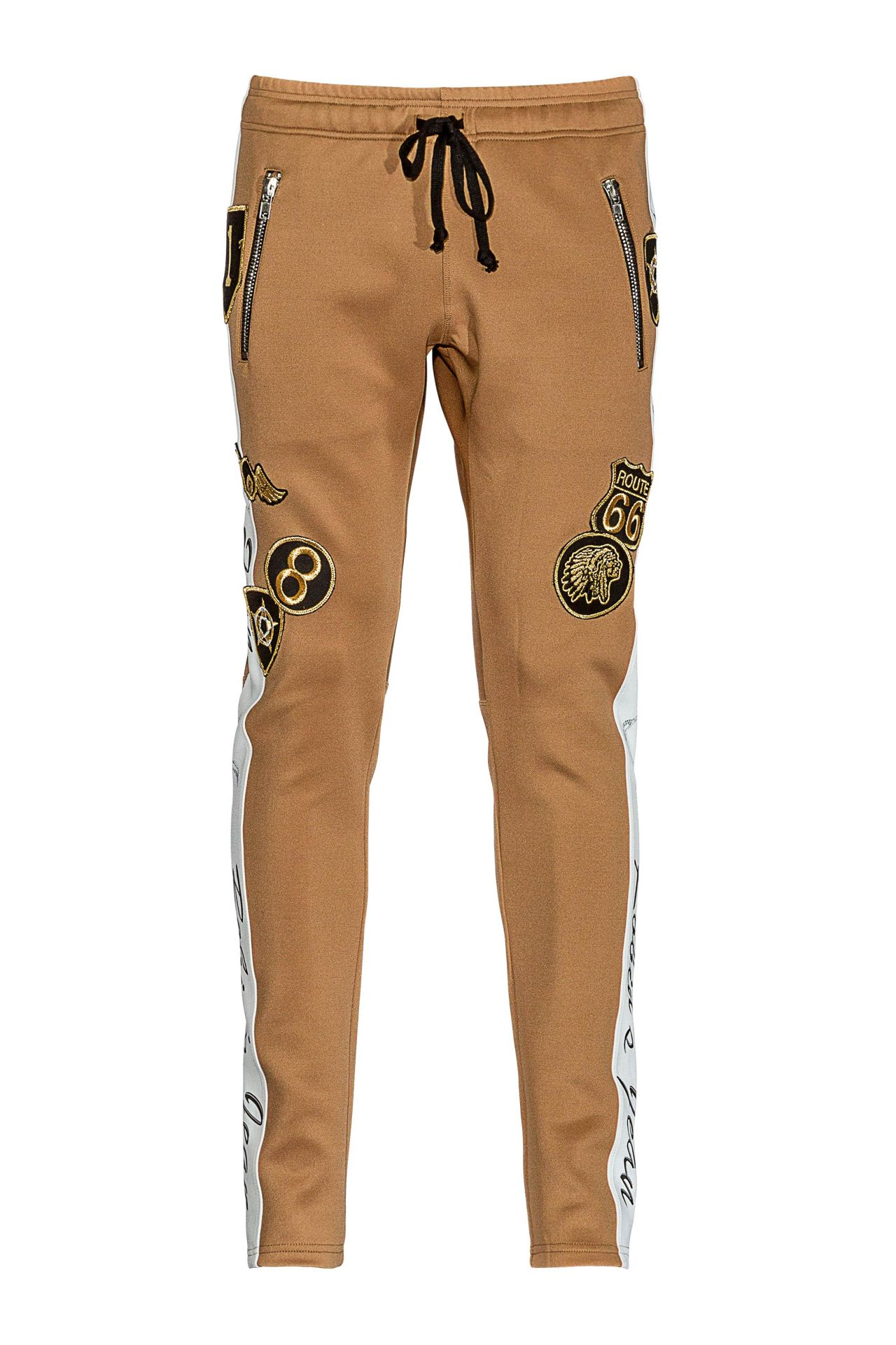 ROBIN TEAM JOGGER WITH PATCHES IN KHAKI