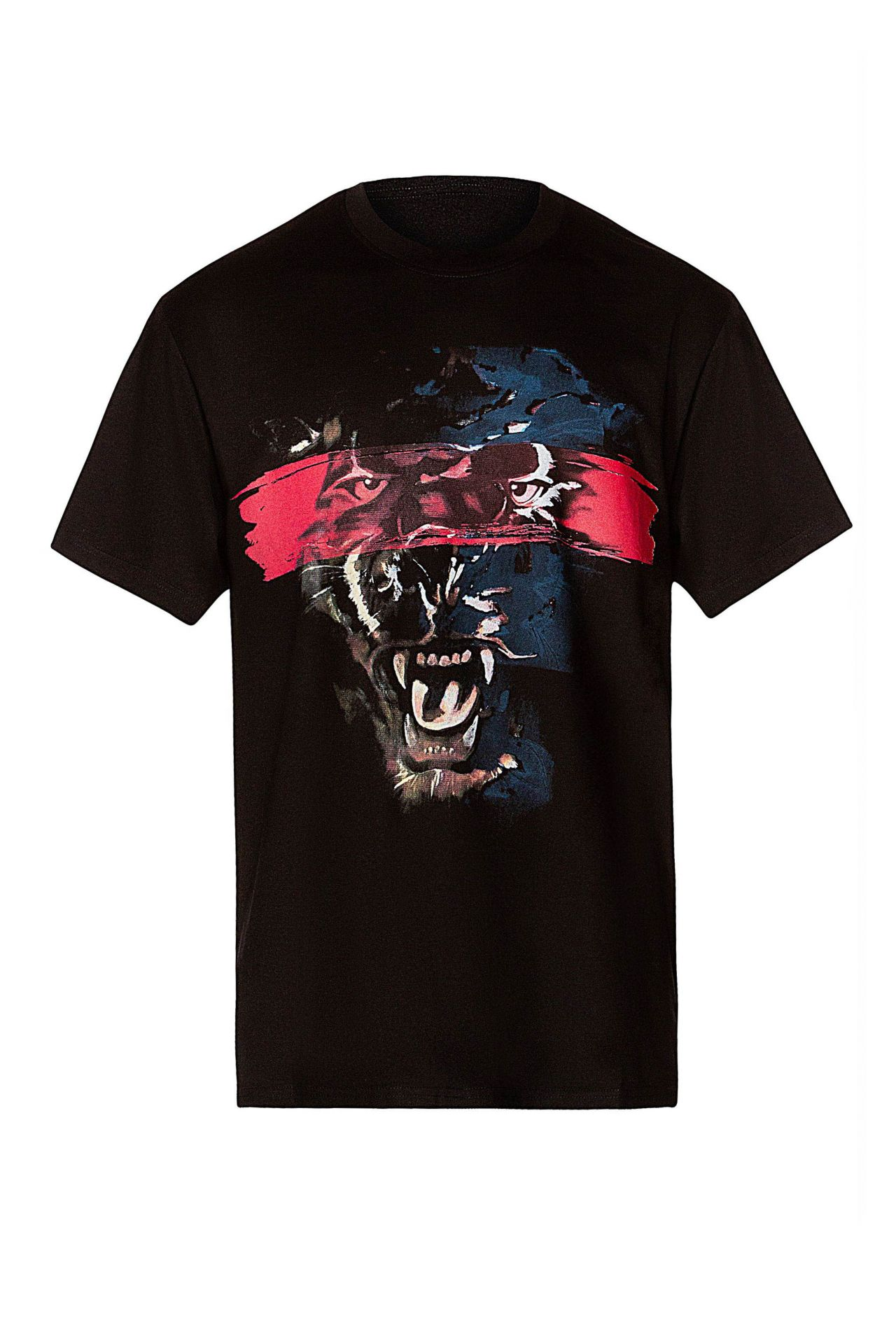 ROBIN'S RED LABEL PANTHER TEE IN BLACK