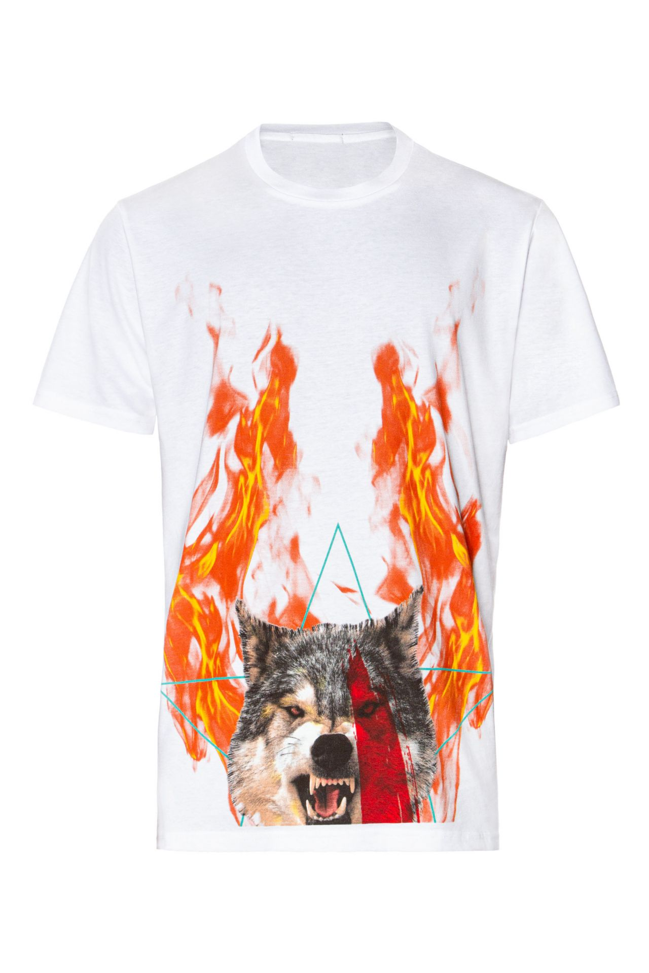 WOLVES TEE IN WHITE