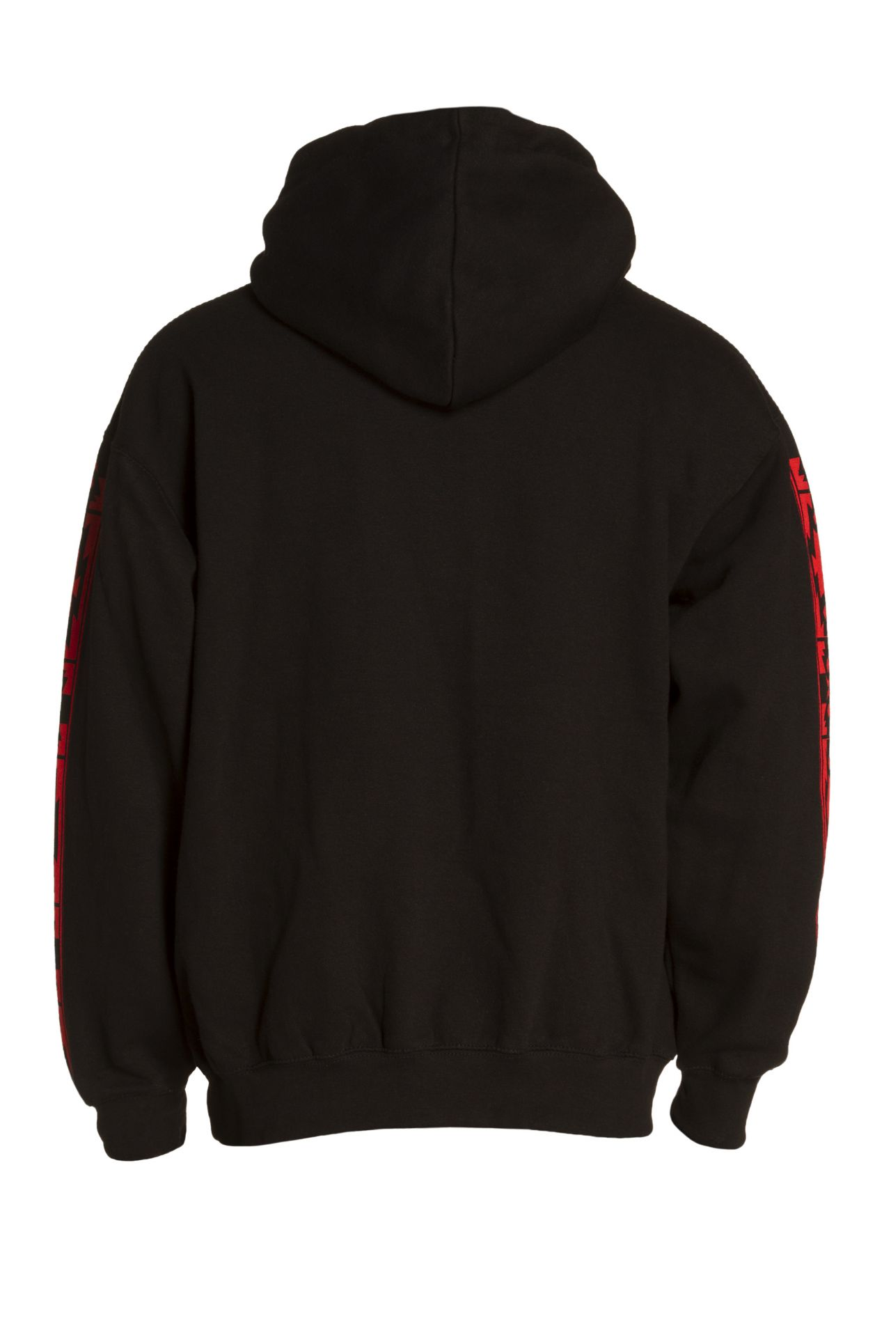 DRESSED UP PULLOVER HOODIE WITH CRYSTALS IN BLACK