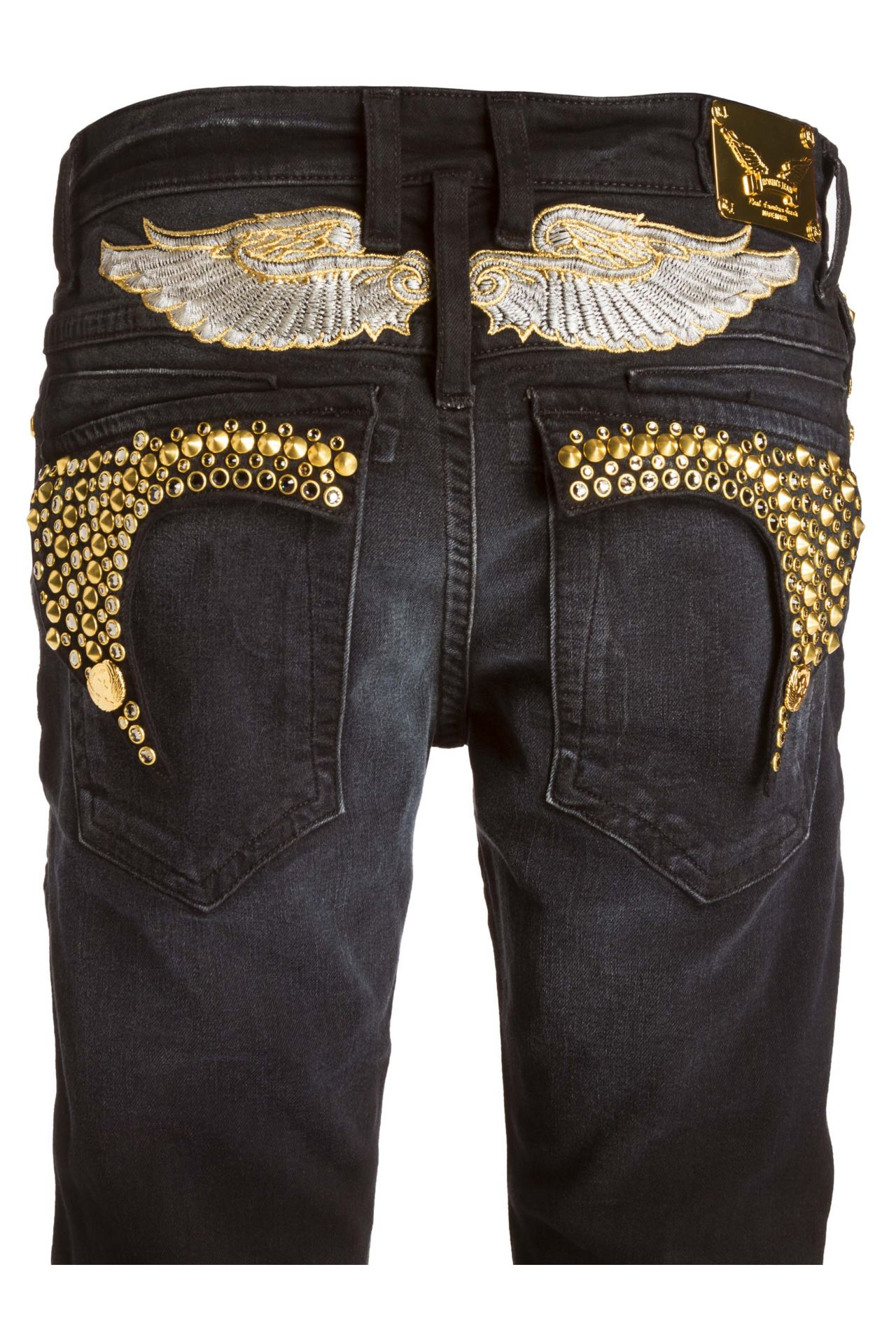 KILLER FLAP IN F_UP WITH CRYSTAL AND SPIKE STUDDING