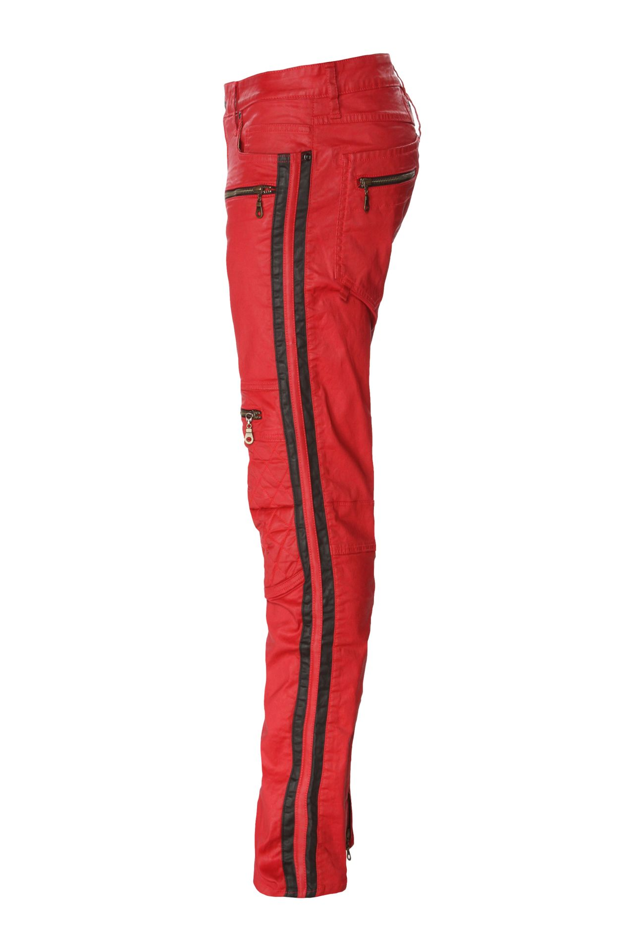 RACER W/  STRIPES IN RED
