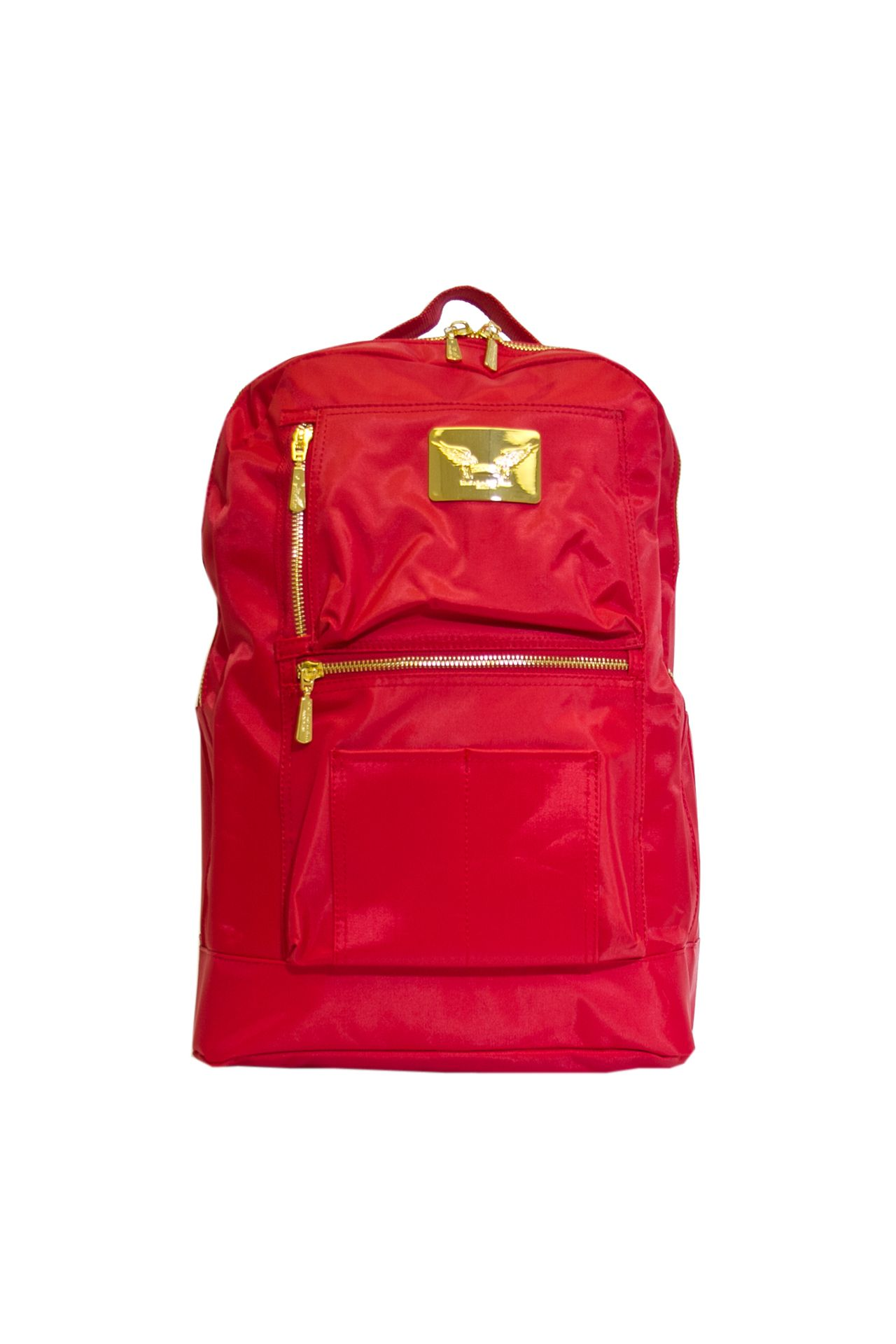 ROBIN'S JEAN NYLON BACKPACK IN RED