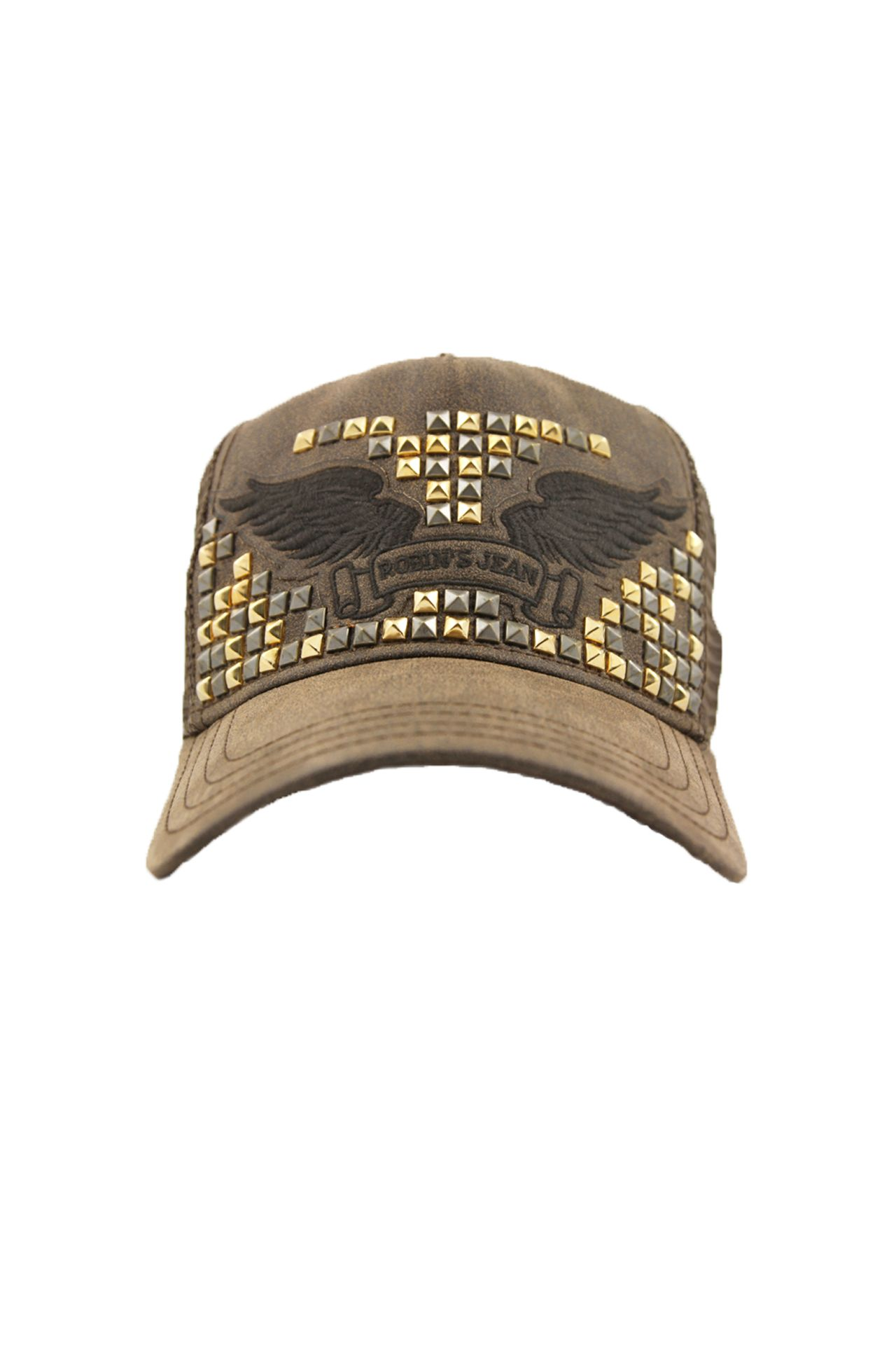 CAP BROWN COATING STUDDED