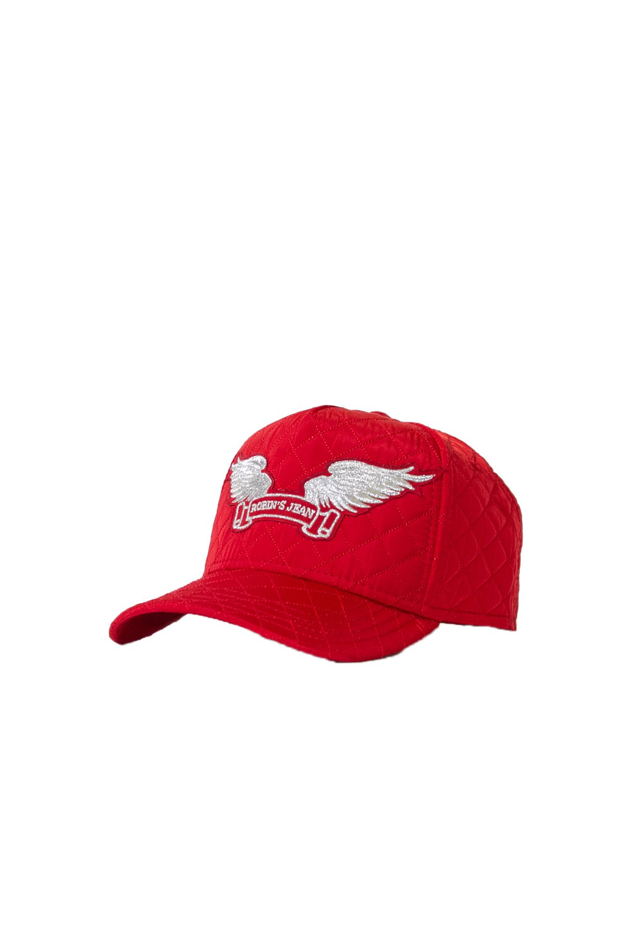 QUILTED RED CAP