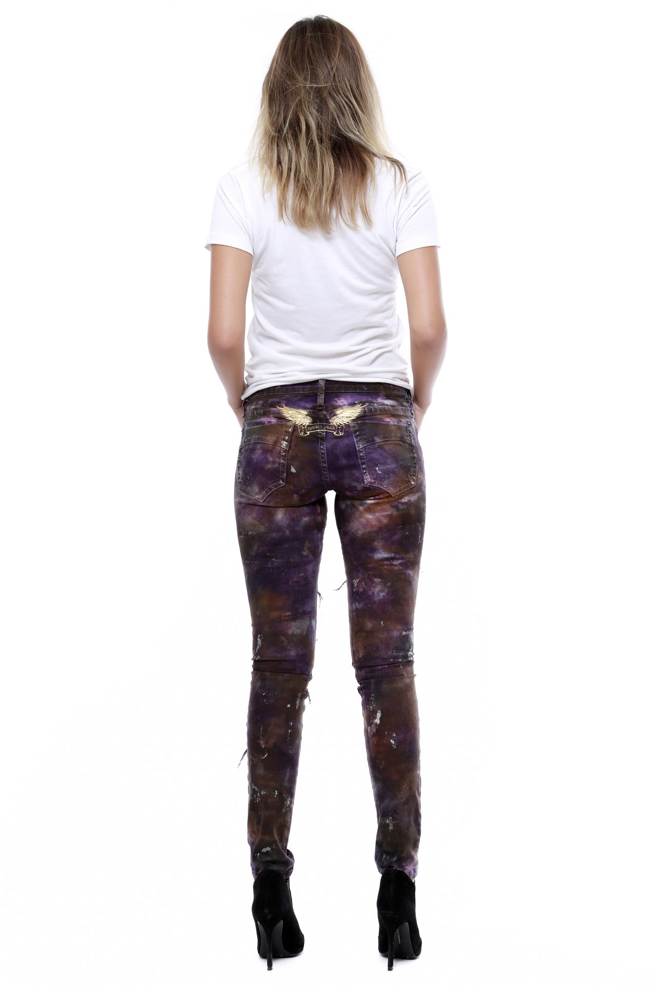MARILYN DISTRESSED PAOLO PURPLE