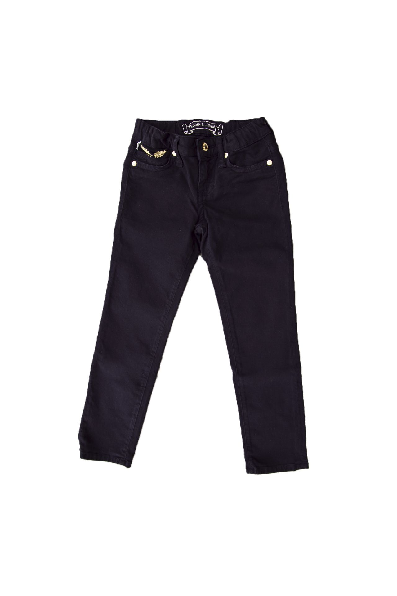 KID PANTS BLACK STUDDED
