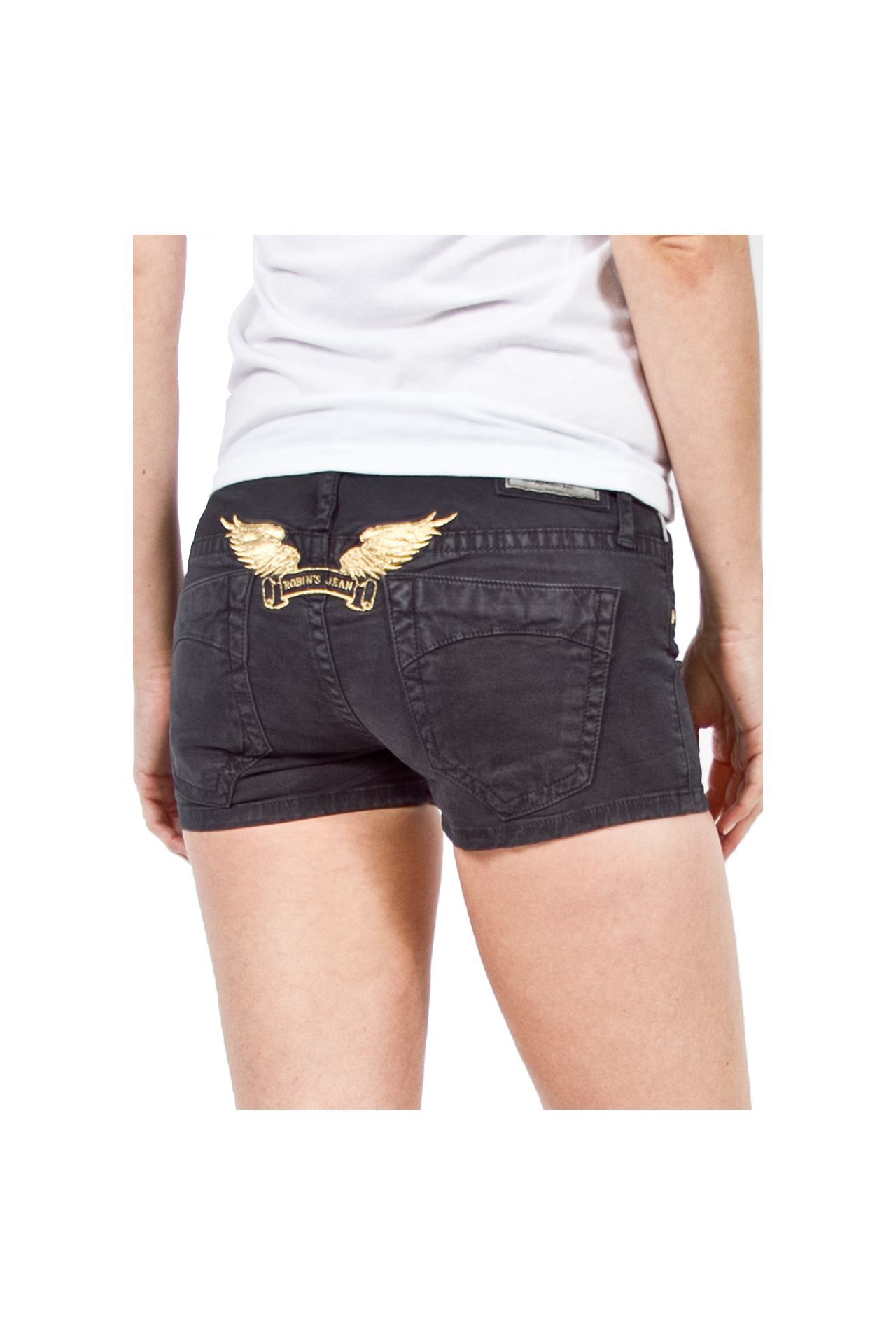 MARILYN SHORT CHARCOAL